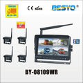 "9"" wireless digital monitor & 4PC wireless camera DVR recorder BY-08109WR"