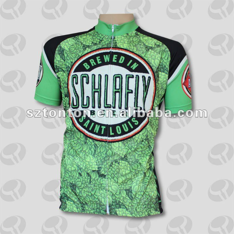 Custom cycling tops sublimated