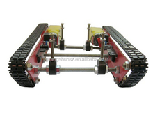 Smart Intelligent Barrowload tank Car robot car Crawler chassis wheel track Integrated motor 16 steel