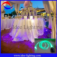 new cheap dreamlike fiber optic wedding table centerpieces