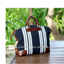 canvas + leather ladies fashion bag 2013 for buisiness men cheap small briefcase