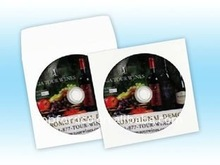 CD/DVD replication service with customer design and printing
