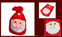 Hot Sell Luxury High Quality Velvet Santa Claus Christmas Sack Decoration
