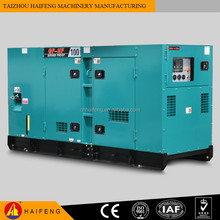 China Export Factory Promotion 1200kw 1500kva Silent Diesel Generator