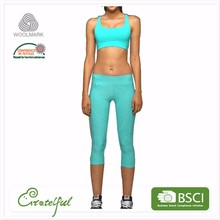 Breathable wholesale women gym sexy sports yoga fitness clothing