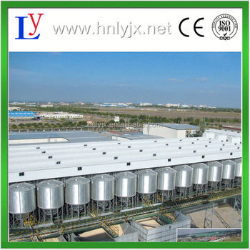 High capacity reliable storage steel silo / thermal insulation silo with good price for sale