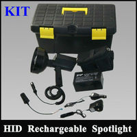 ammo box Rechargeable handheld Searchlight,100W Hunting Spotlight equipment hid xenon conversion kit with handle klarheit direct