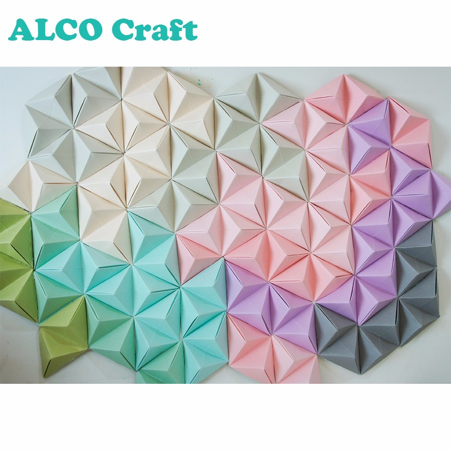 Diy Wall Decor Molly S Design Creative Texture Cardstock Paper Craft