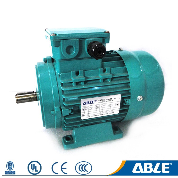 Best msd series gost aluminum able induction flange type motor