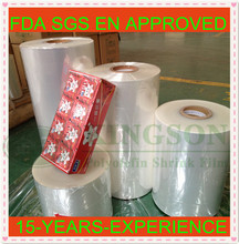 pof thermos shrink wrap for egg packaging