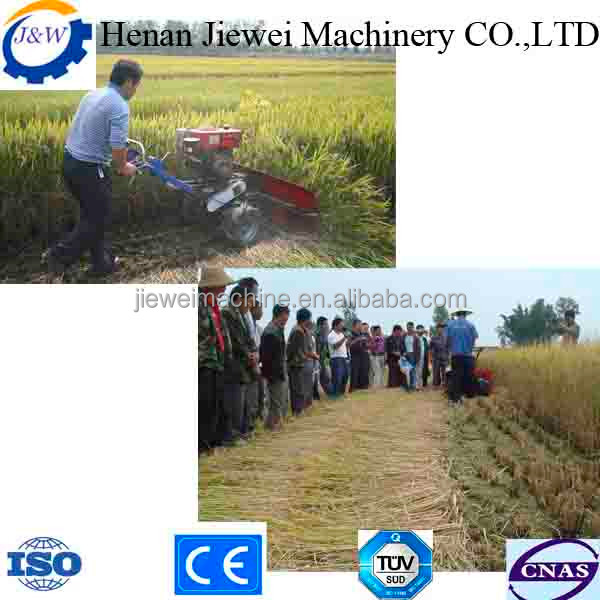 rice wheat grain straw reaper cutter in Indonesia Malaysia India