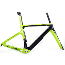 2017 new arrivals super light carbon road racing bicycle frame T900