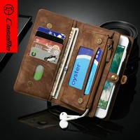 Factory Price case for leather for iphone 7 plus,smart phone case For iphone 7 plus,Flip for iPhone 7 plus Leather Case
