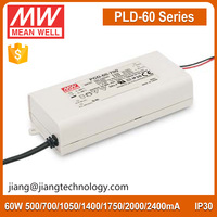 60W 1750mA LED Driver PLD-60-1750B Meanwell Constant Current LED Power Supply