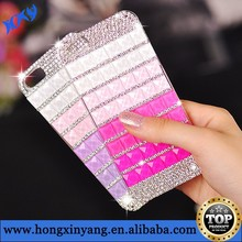 3D Luxury Bling Handmade Crystal Diamond Rhinestone Hard Case for iphone 6 & 6 plus