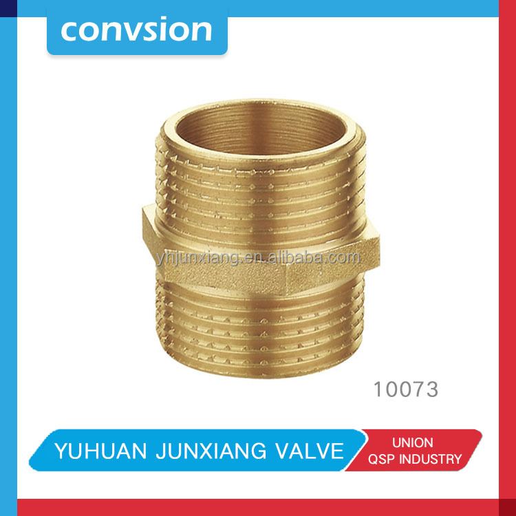Junxiang gas pipe compression fittings/Brass compression pex pipe fitting