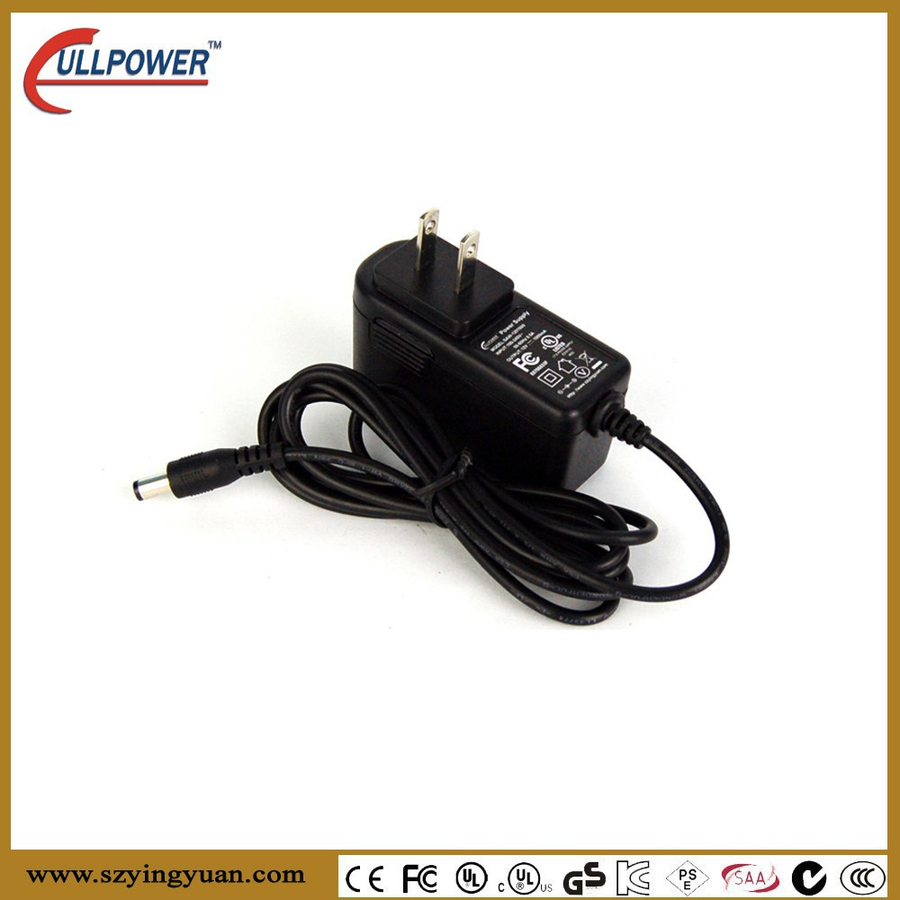 12v Dc Power Adapter Supply 2.1mm 5.5mm 1a 1000ma, CCTV PSO LED Driver meet tne USA market