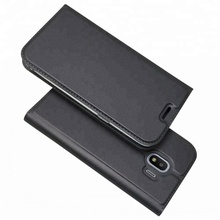 Ultra Thin Leather Phone Case Silicone TPU Celular For Samsung Galaxy J2 Pro 2018 Mobile Cover