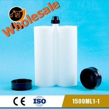 1500ml 1:1 Double Empty Cartridge for Epoxy & <strong>Adhesive</strong>