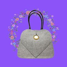 Ultra thin felt advertising bag with logos