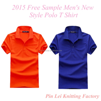 2015 Free Sample Men's New Style Polo T Shirt