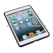 made in china for ipad mini 2 cover case for ipad mini tpu pc combo case