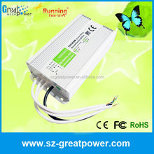 good quality 250w 24v waterproof ac/dc power supply from Shenzhen factory