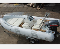 PVC infaltable boat rib boat for sale