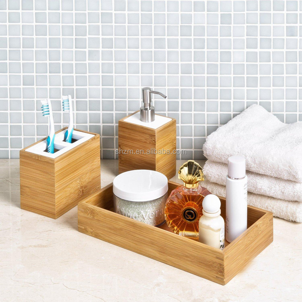 Wholesale Bamboo Hotel Bathroom Bath Accessories With Toothbrush And Lotion Can Buy Bamboo