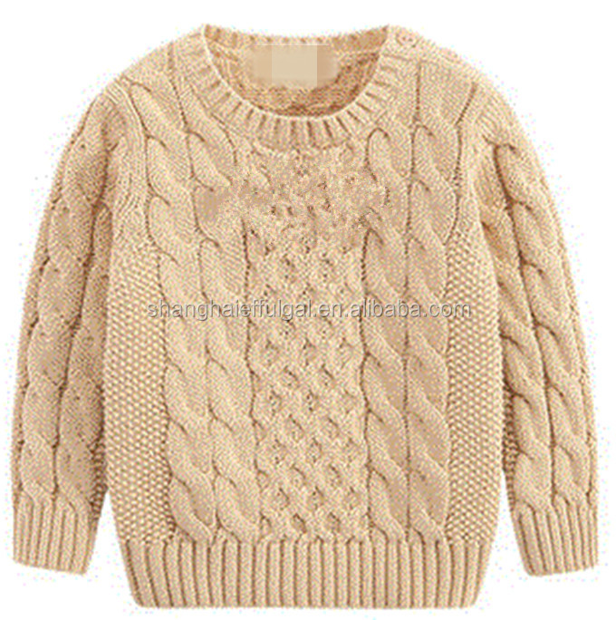 2016 Latest design cotton knitted baby boys sweater