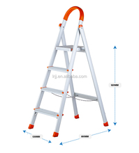 KENTAI 014 A Type 4 steps Ladder Aluminium Portable Ladder