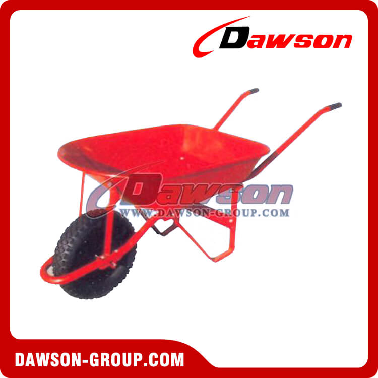 Small trolley spare parts wheel barrow tub