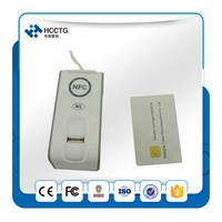 Portable android Fingerprint access control biometric with RFID/NFC smart card reader --AET62