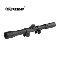 Spike 4x20 Rifle Scope with Dovetail Mounts/Riflescopes Hunting