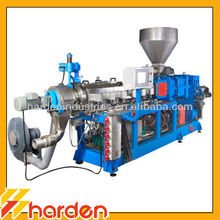 Parallel Counter Rotating Twin Screw Extruder Plastic Granulator