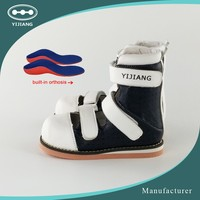 Summer ankle foot orthosis fashion design paediatric shoes