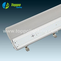 CE led tri-proof lamp, emergency led tube / 4ft led tube light fixture