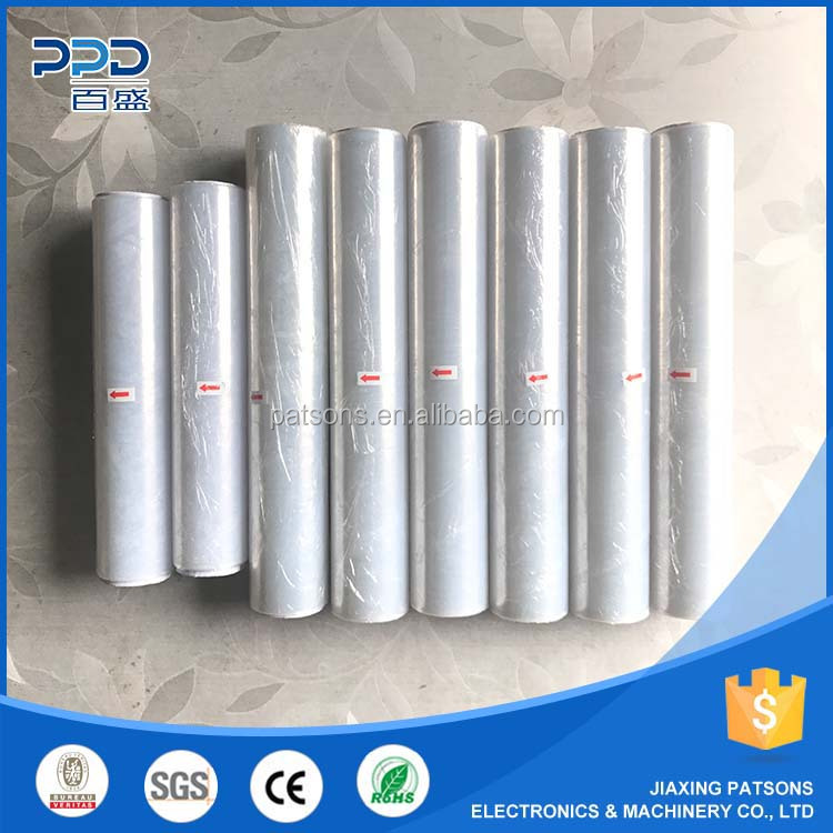 5 Shaft Automatic Cling Wrap Film dotting labeling Rewinder