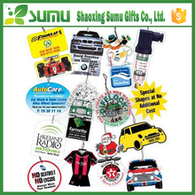 Promotional customized design wholesale car air fresheners with own logo