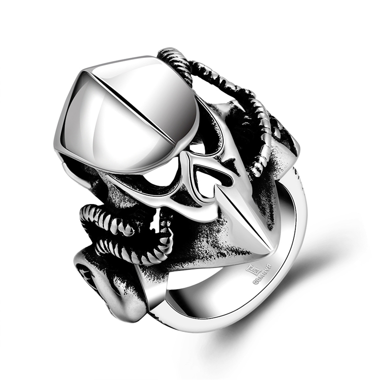 JYSZR0164 Stock Justeel Jewellery Stainless Steel Ring
