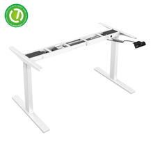 height adjustable desk frame extension table mechanism metal legs for electric lift table used export from Chinese manufacture