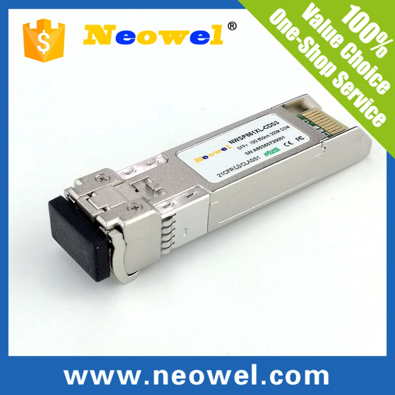 multimode 850nm 300m sfp 10g sr 10GBASE SFP+ transceiver compatiable with Cisco, H3C, HP, Huawei,ZTE