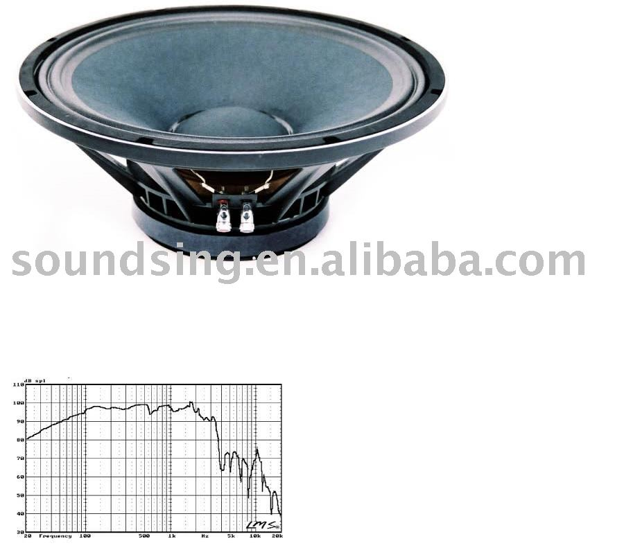 "15"" mid bass speaker(pro audio,speakers) SD-150028A"