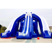 Commercial grade CE certification giant inflatable water slide for adults