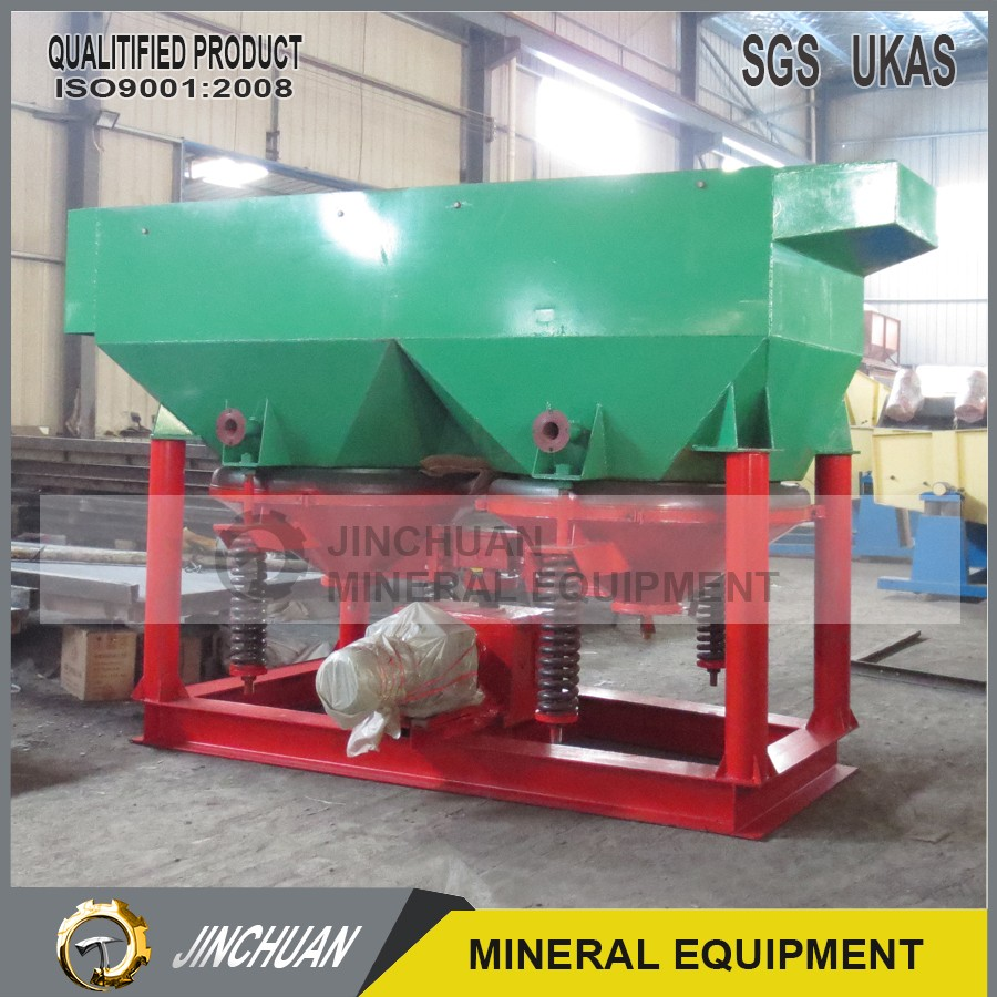 gravity jig for alluvial gold separating