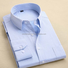 mens shirt with striped pattern in TC fabric