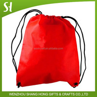 210D Polyester promotional custom drawstring bag with Reinforced Corners
