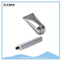 Plastic Material and Non Spill Feature Hand Cream Aluminum Tubes