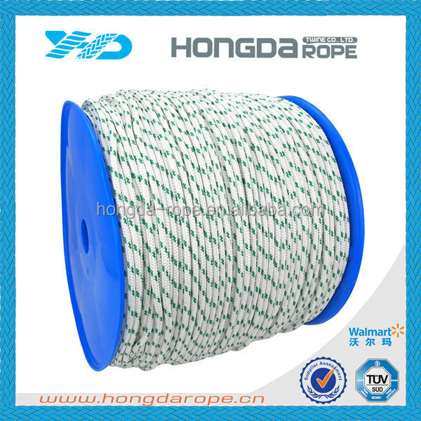 Wholesale costom and reflective braided polyester braided rope