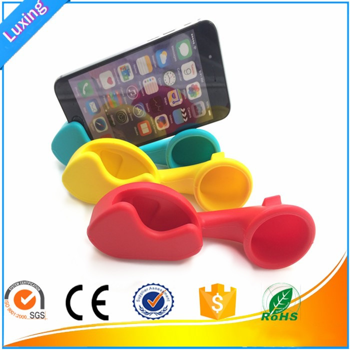 New Universal Silicone Horn Stand, Silicone Phone speaker, Silicone phone amplifie